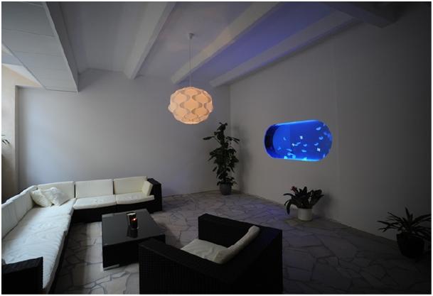 aquarium sur mesure jellyfish concept. Black Bedroom Furniture Sets. Home Design Ideas